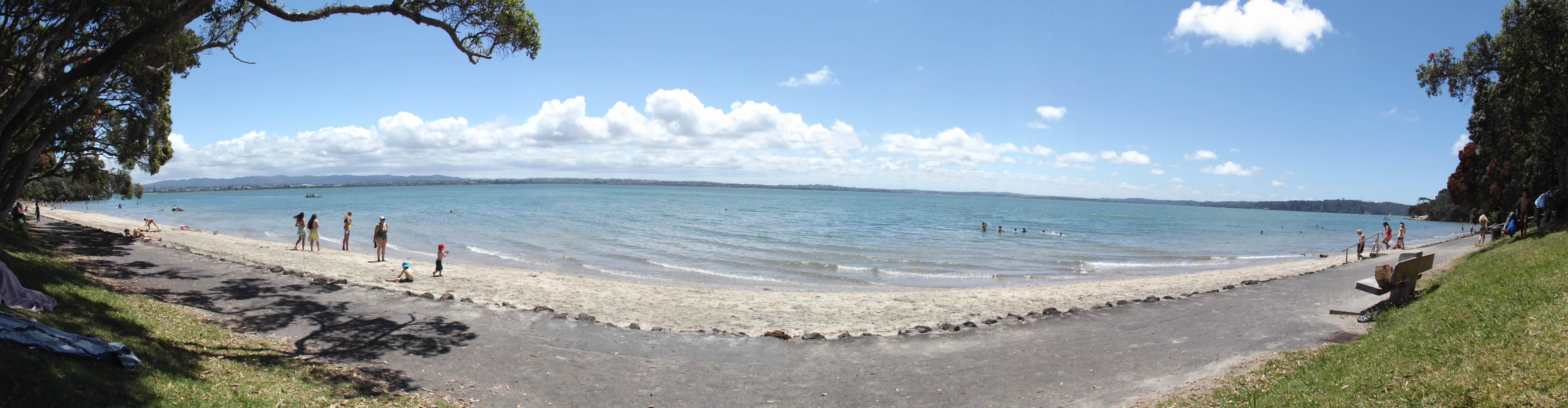 Ptchev beach panorama